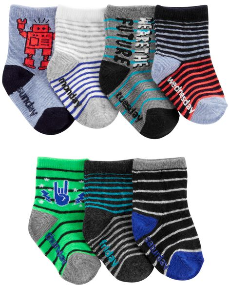 Display product reviews for 7-Pack Robot Crew Socks