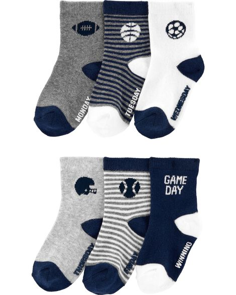 Display product reviews for 6-Pack Sports Socks