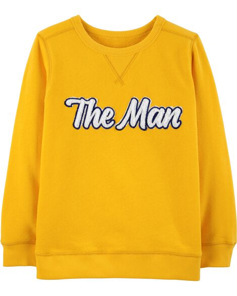 Display product reviews for The Man Fleece Sweatshirt