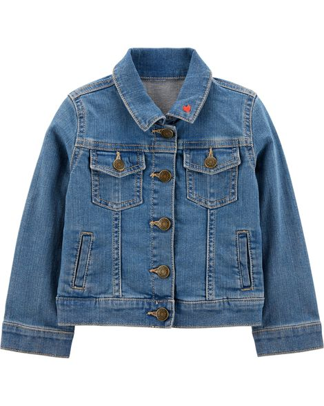 Display product reviews for Denim Jacket