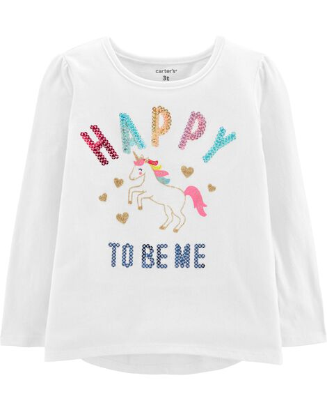 Display Product Reviews For Sequin Unicorn Tee