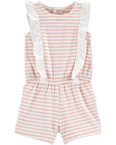 Display product reviews for Striped Ruffle Romper