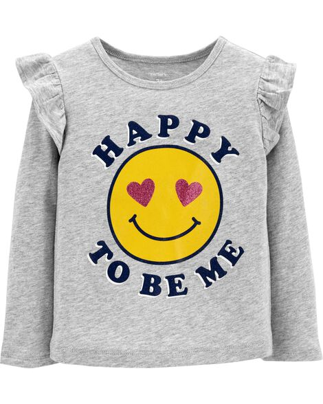 Display product reviews for Happy To Be Me Flutter Tee