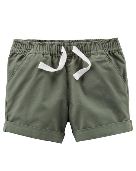 Display product reviews for Pull-On Twill Shorts