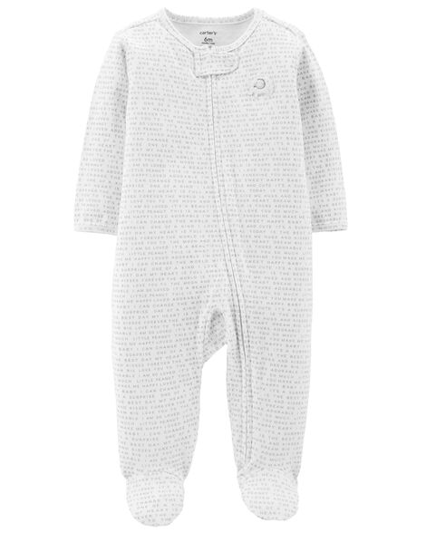Display product reviews for Zip-Up Elephant Cotton Sleep & Play