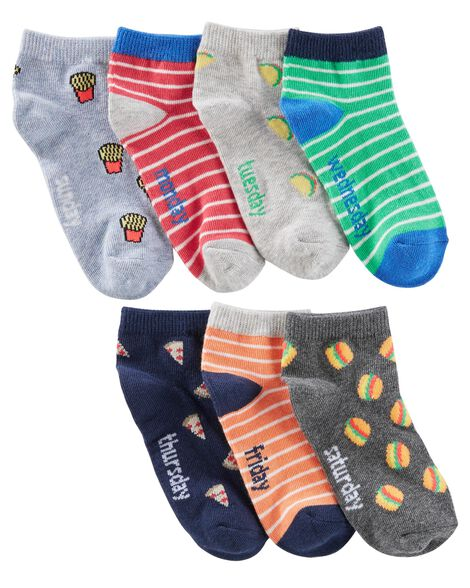 Display product reviews for 7-Pack Junk Food Ankle Socks