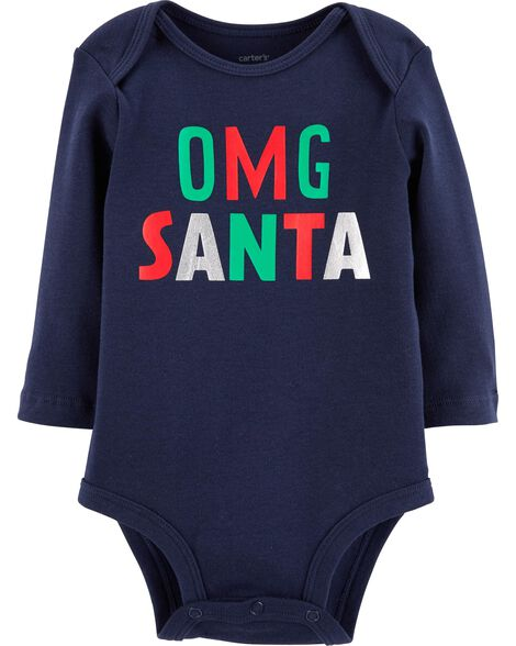 Display product reviews for OMG Santa Christmas Bodysuit