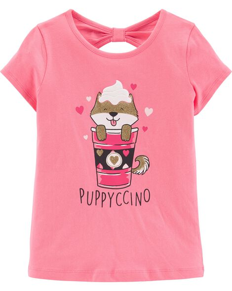 Display product reviews for Glitter Puppyccino Tee