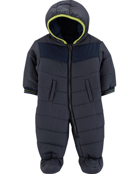 Display product reviews for 1-Piece Zip-Front Snowsuit