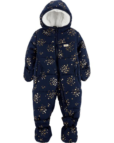 Display product reviews for Gold Stars One-Piece Snowsuit