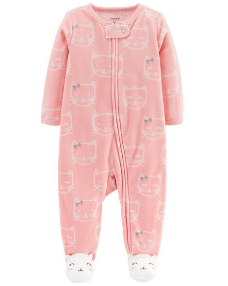 Display product reviews for Kitty Zip-Up Fleece Sleep & Play