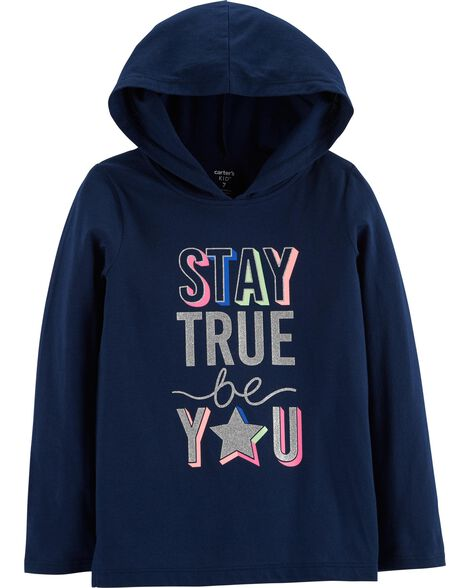 Display product reviews for Stay True Be You Pullover Hoodie