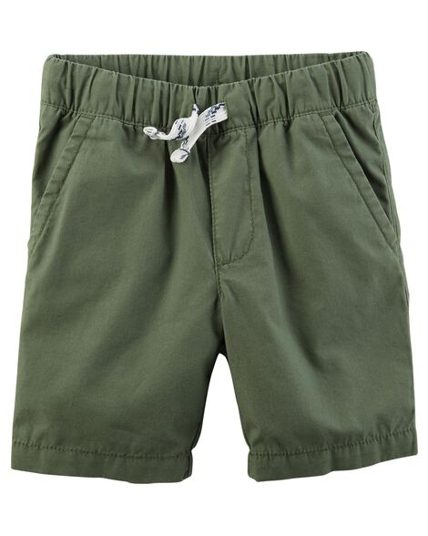 Display product reviews for Easy Pull-On Poplin Shorts