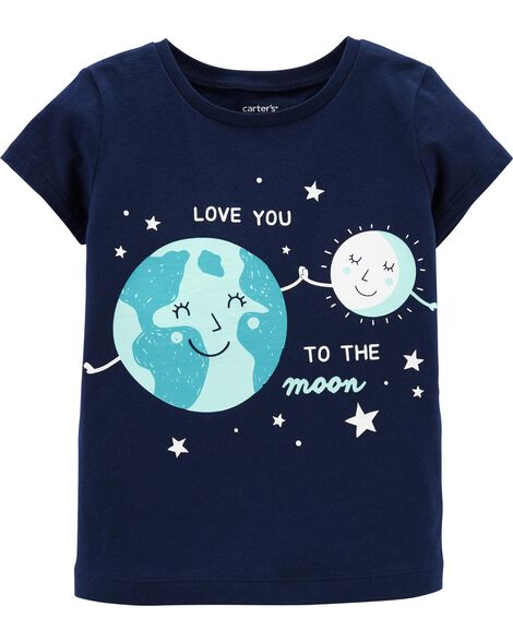 Display product reviews for Earth & Moon Jersey Tee