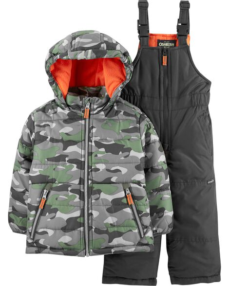 Display product reviews for 2-Piece Camo Snowsuit Set
