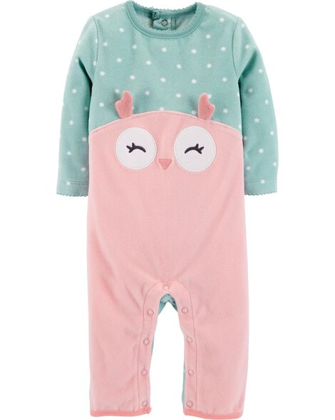 Display product reviews for Owl Fleece Jumpsuit