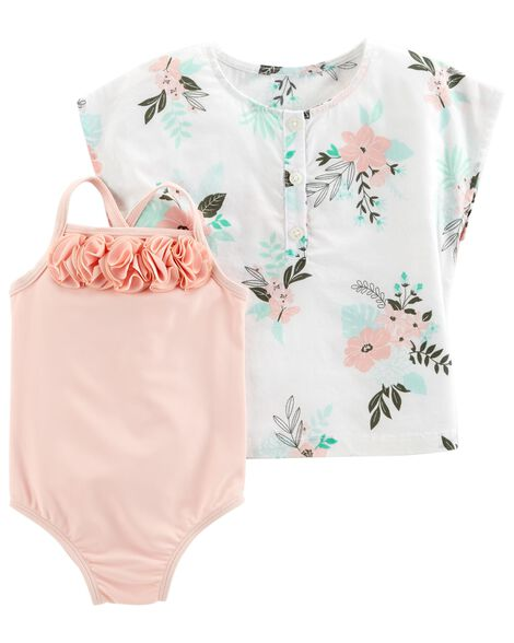 Display product reviews for Carter's 2-Piece Swimsuit & Cover-Up Set