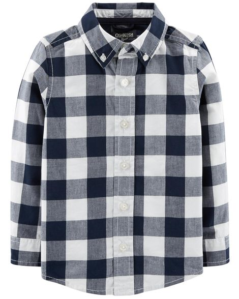 Display product reviews for Buffalo Check Button-Front Shirt