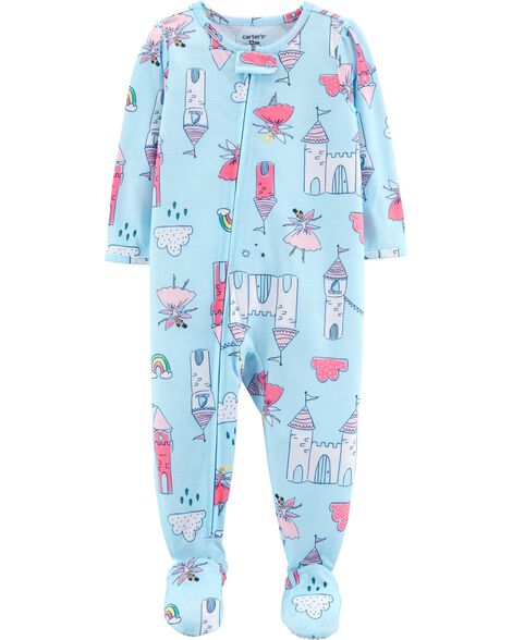 Display product reviews for 1-Piece Castle Footed Poly PJs