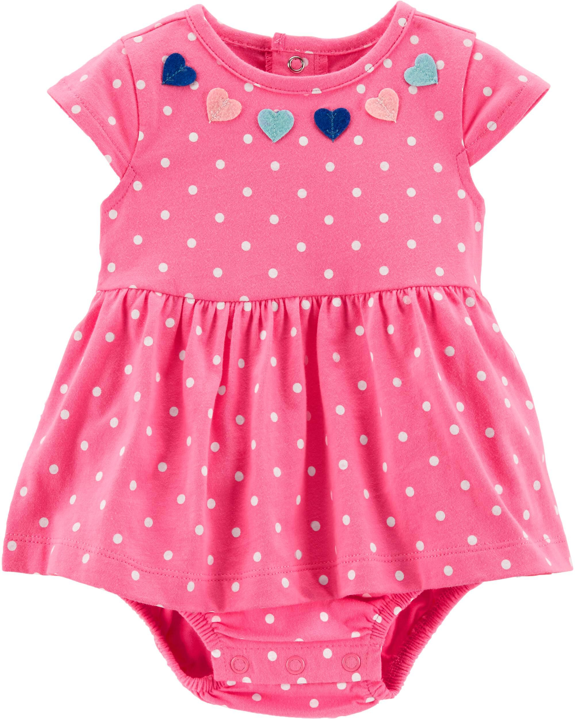 The Best Baby Girls Pink Polka Dot Skirt 1 To 1.5 Years Baby & Toddler Clothing