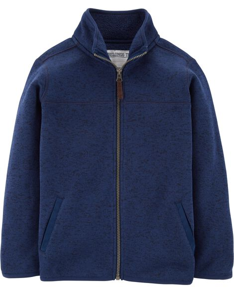 Display product reviews for Zip-Up Fleece-Lined Jacket