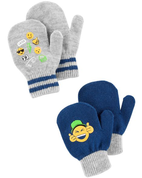 Display product reviews for 2-Pack Emoji Gripper Gloves
