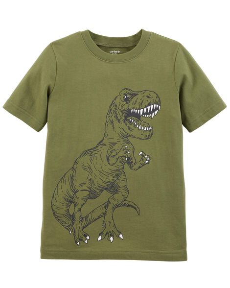 Display product reviews for T-Rex Jersey Tee