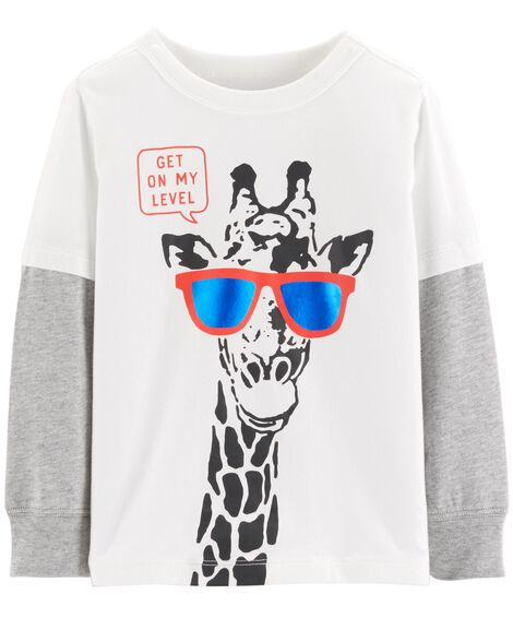 Display product reviews for Layered Look Tee
