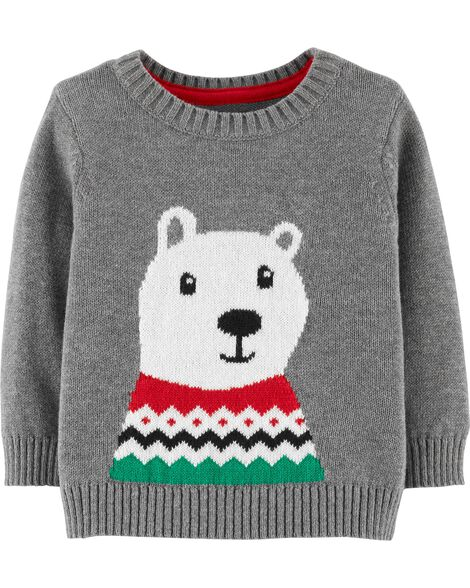 Display product reviews for Christmas Polar Bear Pullover