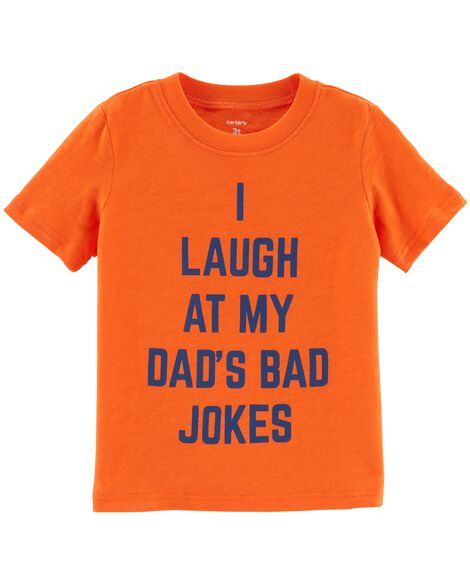 Display product reviews for Dad's Bad Jokes Jersey Tee