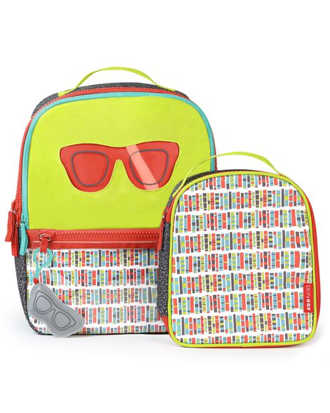Display product reviews for Forget Me Not Backpack & Lunch Bag - Glasses