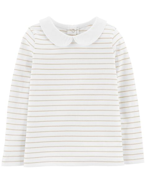 Display product reviews for Gold Striped Top