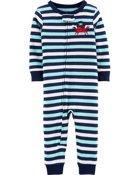 Display product reviews for 1-Piece Crab Snug Fit Cotton Footless PJs c8042b30a