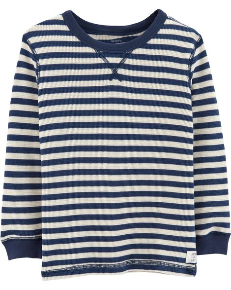 Display product reviews for Striped Thermal Tee