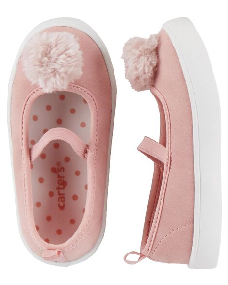 Display product reviews for Carter's Pom Pom Casual Sneakers