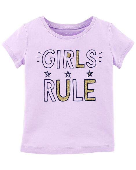 Display product reviews for Girls Rule Jersey Tee