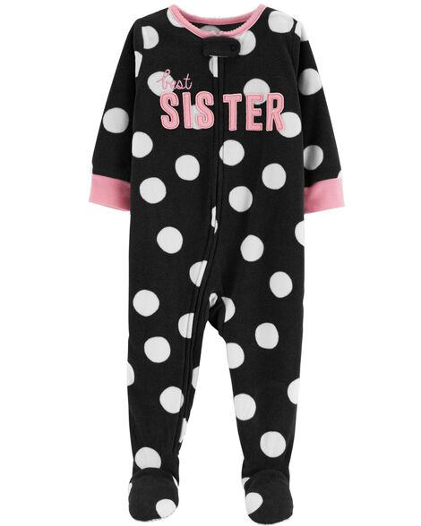 Display product reviews for 1-Piece Little Sister Fleece PJs