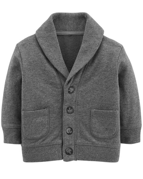 Display product reviews for French Terry Cardigan