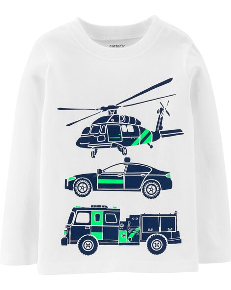 Display product reviews for Rescue Vehicle Jersey Tee