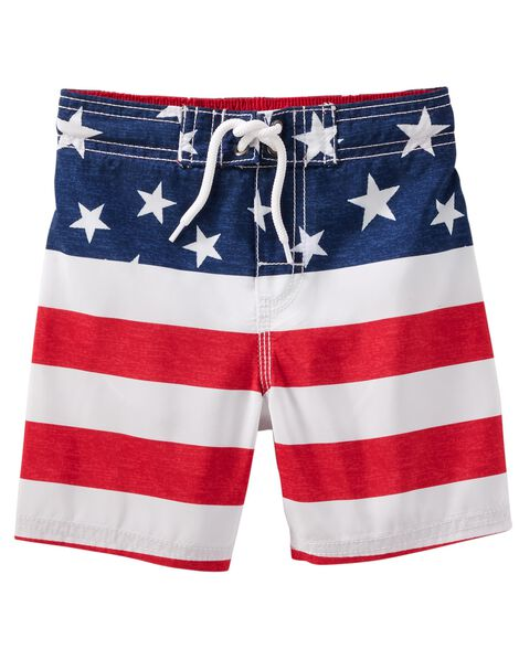Display product reviews for OshKosh Americana Swim Trunks