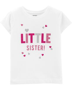 31cf99dc Baby Girl Graphic Tees | Carter's