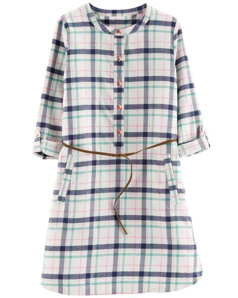 Display product reviews for Plaid Flannel Shirt Dress