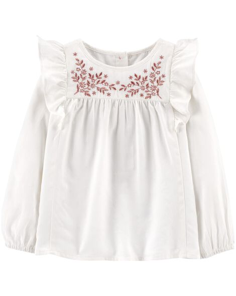 Display product reviews for Ruffle Front Top