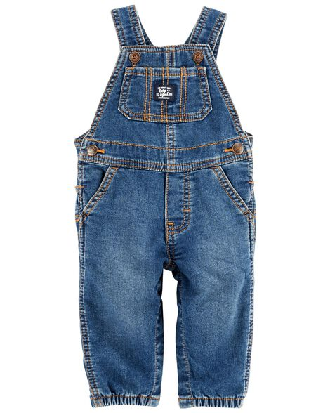 Display product reviews for Knit Denim Overalls