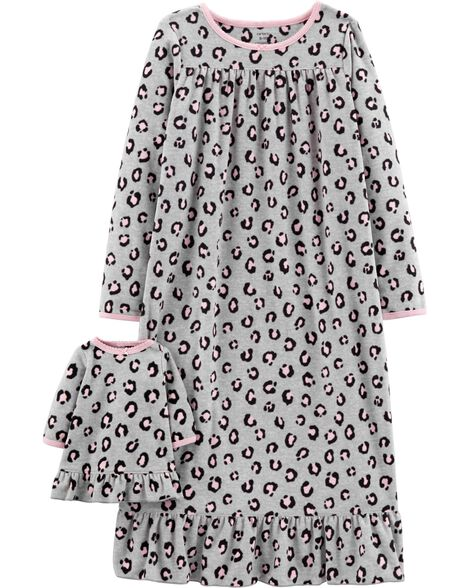 Display product reviews for Leopard  Matching Nightgown & Doll Nightgown Set