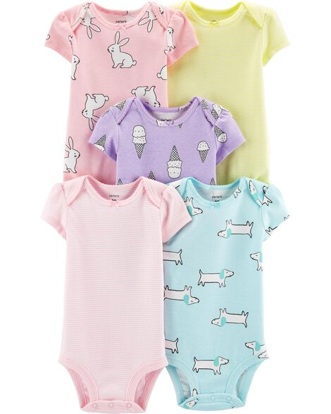Display product reviews for 5-Pack Animal   Ice Cream Original Bodysuits dceb26160