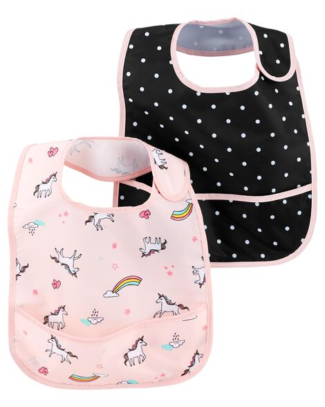 Display product reviews for 2-Pack Feeding Bibs