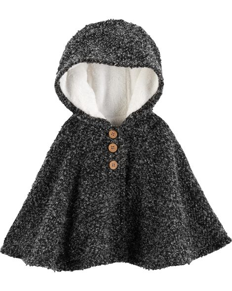 Display product reviews for Fuzzy-Lined Cape Poncho