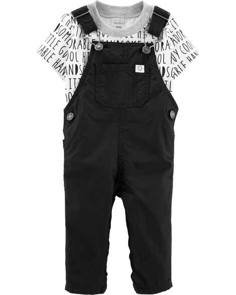 575449aeece2 Display product reviews for 2-Piece Tee & Overalls Set