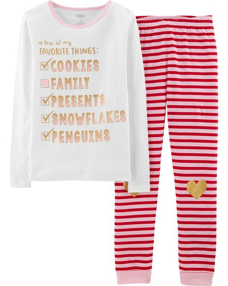 Display product reviews for Snug Fit Favorite Things Cotton PJs